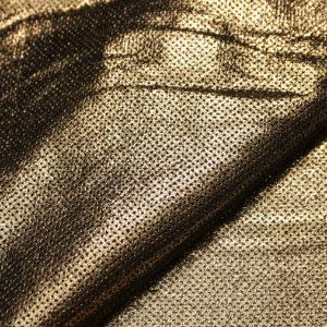Велюр МРС с принтом и перфорацией, золото, 58 дм2, Tari S.p.A.-109217