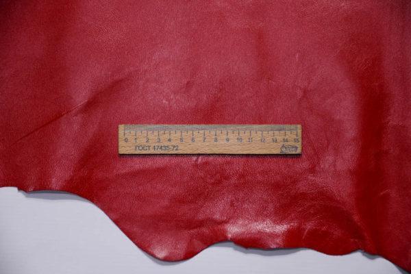 Кожподклад МРС, красный, 89 дм2.-401047