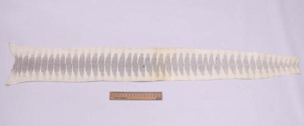 Кожа змеи (Ayers), бежевая, 87х11 см.-zm4-112