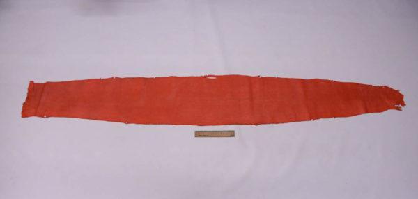 Кожа змеи (Karung), коралловая, 153х21 см.-zm4-28