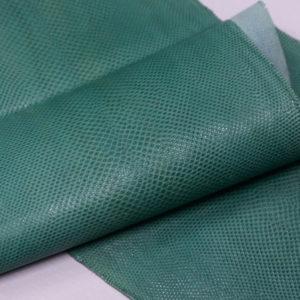 Кожа змеи (Karung), бирюзовая, 150х23 см.-zm4-37