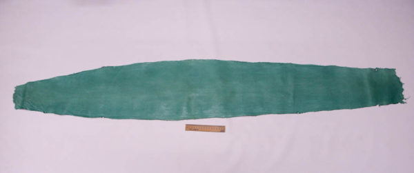 Кожа змеи (Karung), бирюзовая, 160х26 см.-zm4-41