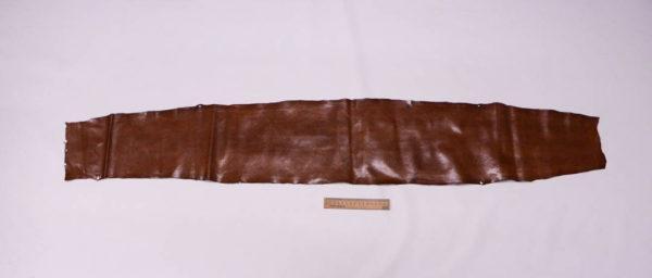 Кожа змеи (Karung), коричневая, 137х22 см.-zm4-53