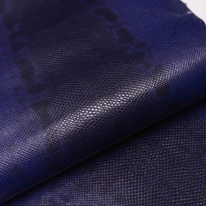 Кожа змеи (Karung), фиолетовая, 132х25 см.-zm4-57