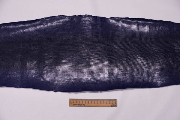 Кожа змеи (Karung), фиолетовая, 125х27 см.-zm4-60