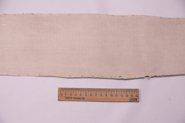 Нубук змеи (Karung), пудра, 120х13 см.-zm4-87