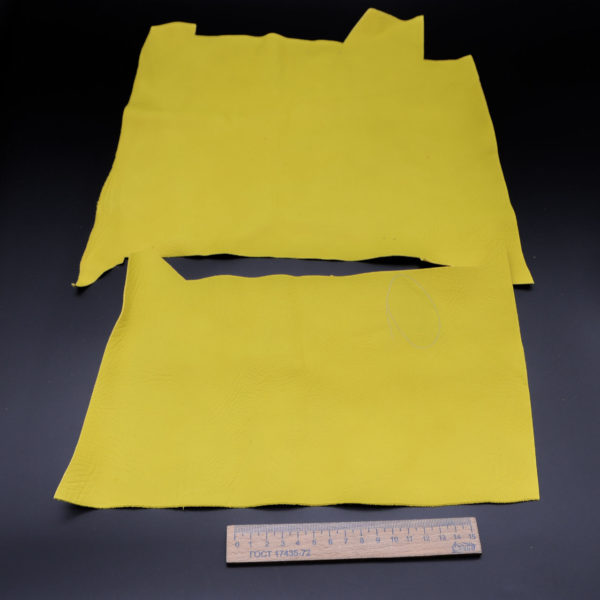 Кожа КРС, лимонная, 16 дм2.-1-140