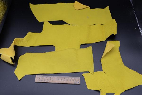 Кожа КРС, лимонная, 14 дм2.-1-143