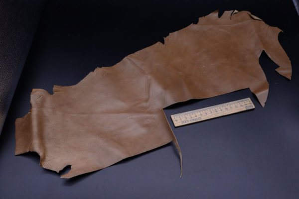 Кожа МРС, светло-коричневая, 12 дм2.-1-145