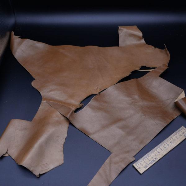 Кожа МРС, светло-коричневая, 15 дм2.-1-148