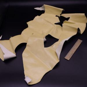 Кожа КРС, бледно-желтая, 19 дм2.-1-159