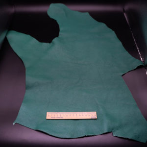 Кожа КРС, зеленая, 23 дм2.-1-225
