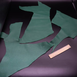 Кожа КРС, зеленая, 14 дм2.-1-227