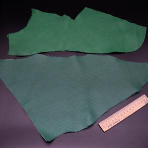 Кожа КРС, зеленая, 15 дм2.-1-228