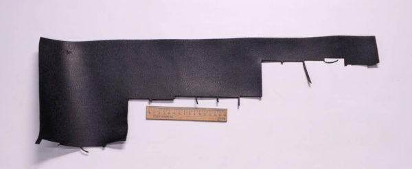 Кожа КРС, черная, 9 дм2.-1-253