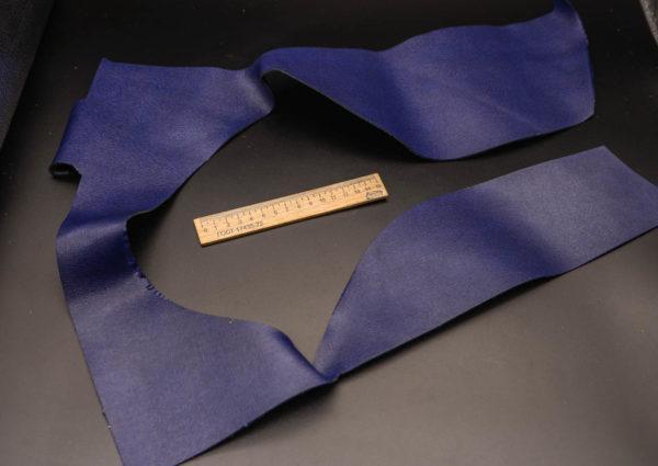Кожа КРС, сафьяно (Saffiano), синяя, 12 дм2.-1-268