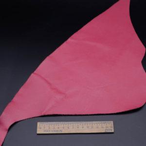 Кожа КРС, сафьяно (Saffiano), малиновая, 9 дм2.-1-273