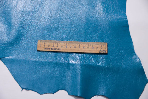 Кожа МРС, голубая, 47 дм2.-109231
