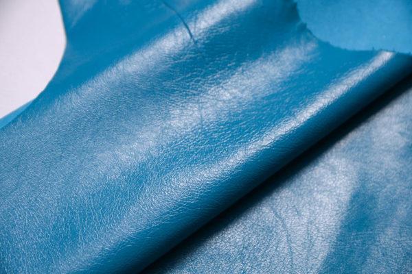 Кожа МРС, голубая, 48 дм2.-109232