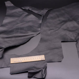 Кожа КРС, черная, 15 дм2.-1-331