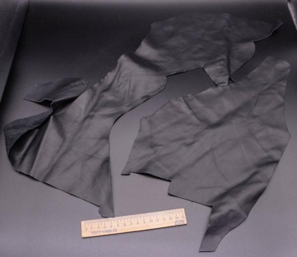 Кожа КРС, черная, 12 дм2.-1-337