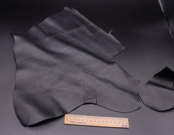 Кожа КРС, черная, 12 дм2.-1-340
