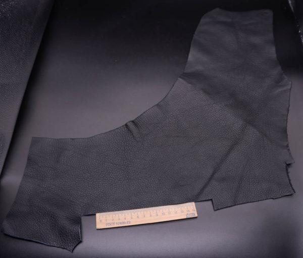 Кожа КРС, черная, 15 дм2.-1-353