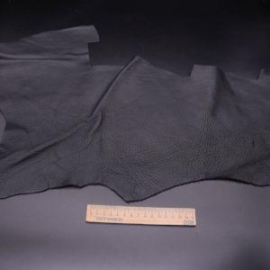 Кожа КРС, черная, 13 дм2.-1-354