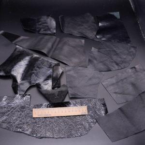 Кожа КРС, черный микс, 18 дм2.-1-375