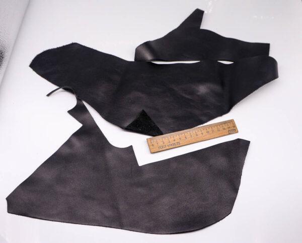 Кожа КРС, черная, 12 дм2.-1-377