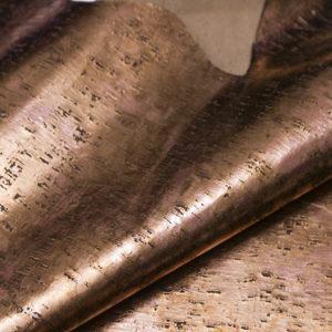 Кожа КРС с тиснением, темно-бронзовая, 110 дм2.-AB1-74