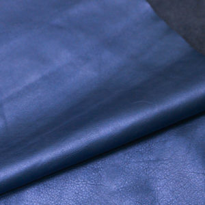 Кожа КРС, голубой металлик, 177 дм2.-AB1-80