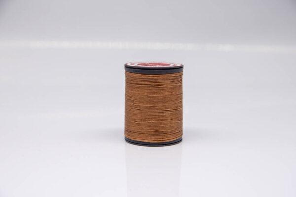 """Нить """"GALACES"""" вощеная плоская 0,8 мм. Коричневая-s015"""