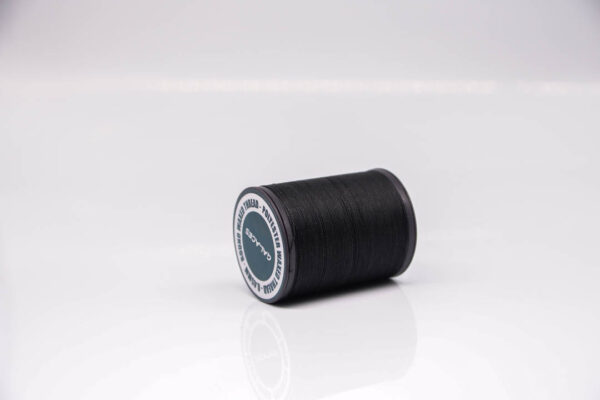 """Нить """"GALACES"""" вощеная круглая 0,45 мм. Черная-s999"""