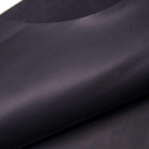 Кожа КРС (краст) шлифованная, черная, 202 дм2.- D1-07