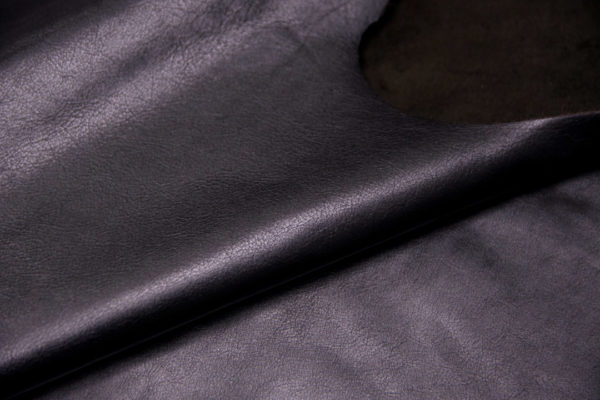 Кожа КРС, черная, 178 дм2.- D1-09