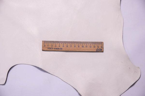 Кожа МРС, грязно-белая, 63 дм2.-109254
