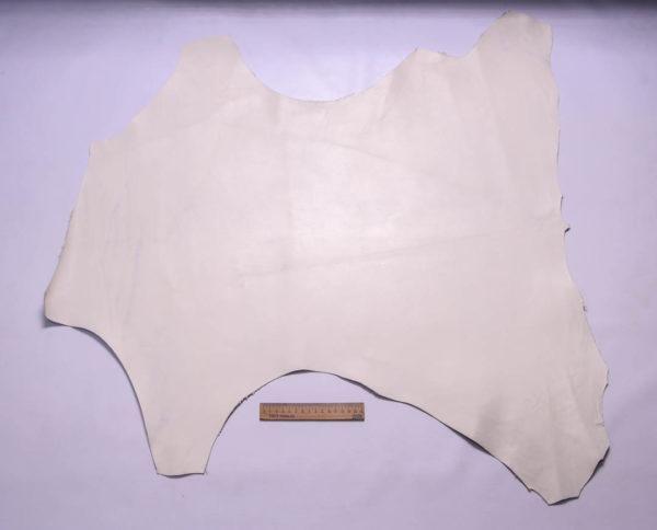 Кожа МРС, грязно-белая, 52 дм2.-109255