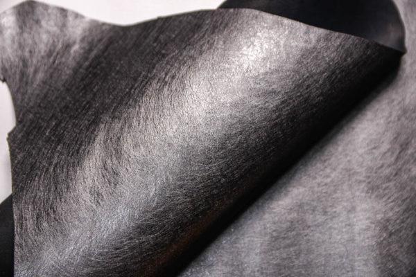 Кожа МРС, графитовый металлик, 29 дм2.-109269