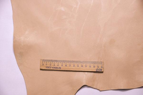 Кожа МРС, бежево-розовая, 35 дм2.-109273