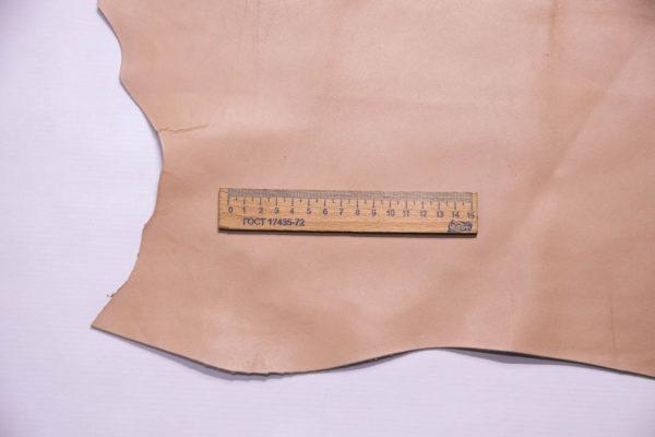 Кожа МРС, бежево-розовая, 30 дм2.-109275