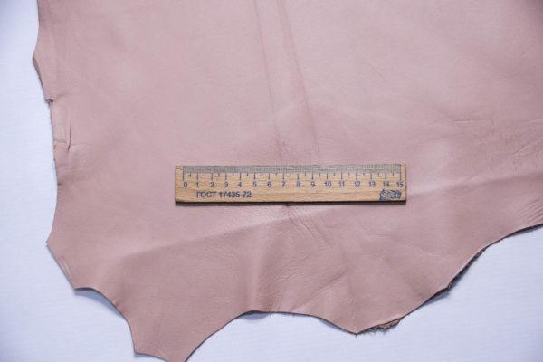 Кожа МРС, розовая, 46 дм2.-109277