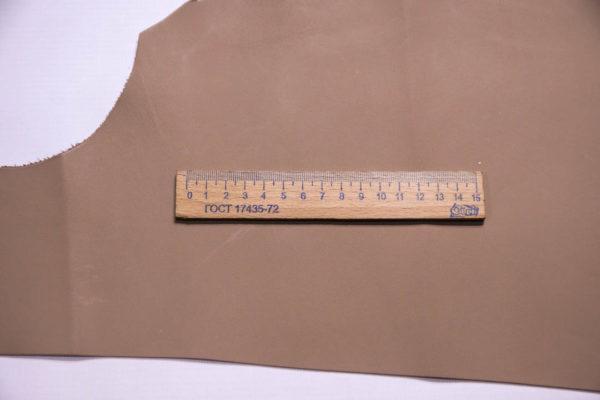 Кожа МРС, какао, 21 дм2.-109285