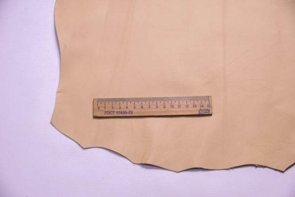 Кожа МРС, песочная, 37 дм2.-109287