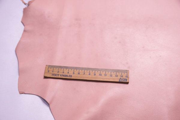Кожа МРС, розовая, 39 дм2 -109310