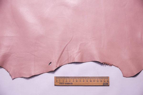 Кожа МРС, розовая, 38 дм2 -109319
