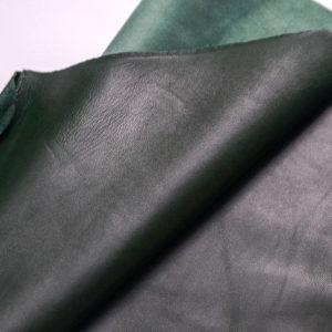 Кожа МРС, темно-зеленая, 24 дм2. -109322