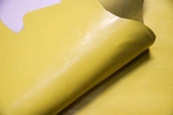 Кожа КРС, светло-желтая, 22 дм2. -109329