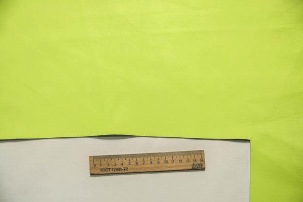 Кожа МРС, ярко-салатовая, 29 дм2, Tari S.p.A. -109350