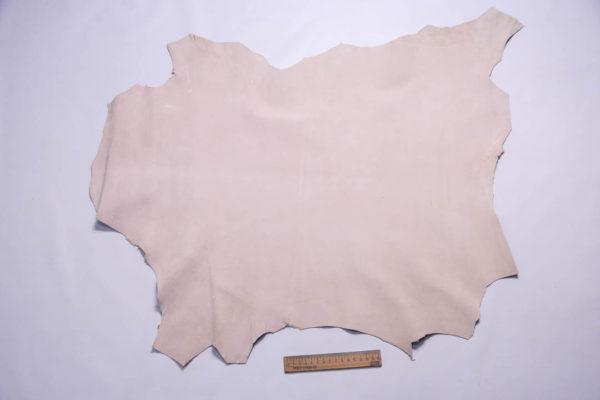 Велюр МРС (коза), светло-бежевый, 45 дм2, Russo di Casandrino S.p.A. -109355